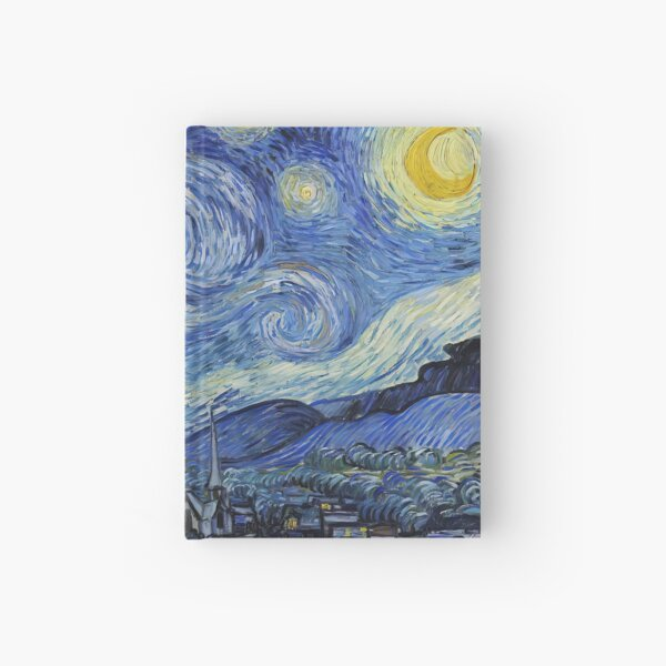 The Starry Night - Vincent van Gogh Hardcover Journal
