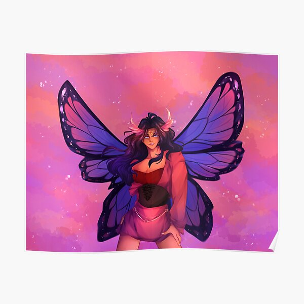 Fée de la fierté bisexuelle Poster