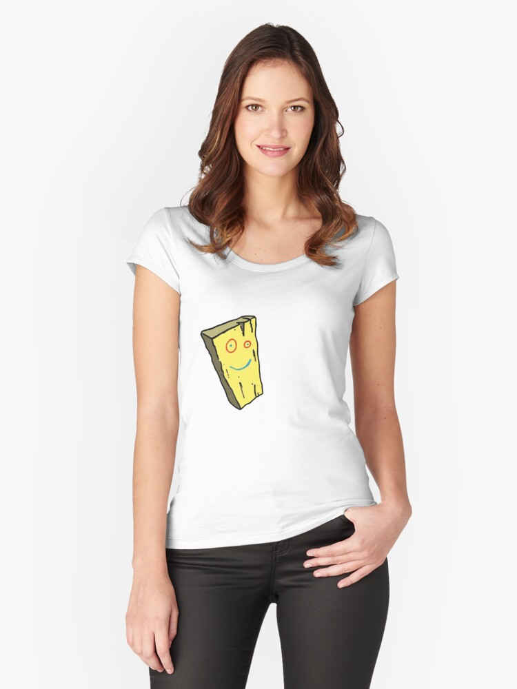 BOARD  Women's Fitted Scoop T-Shirt Front
