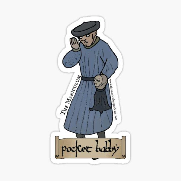 Pocket Babby Sticker