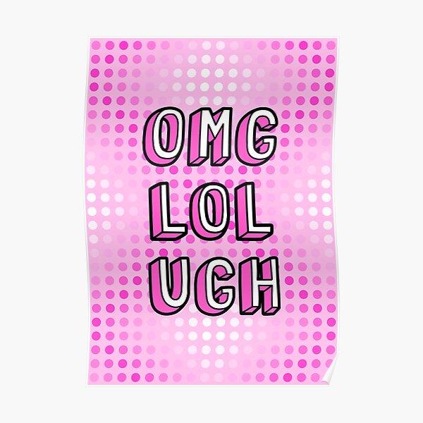 OLU Pink Poster