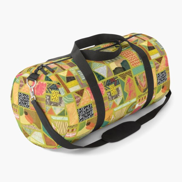 Afrika Art Design Duffle Bag