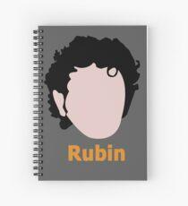 Joel Rubin Spiral Notebook