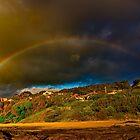 """Rainbow Over North Lorne"" by Phil Thomson IPA"