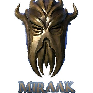 Miraak - Dragonborn/Dragonpriest by bobattackman