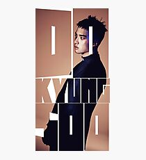 EXO D.O 'Monster' Typography Photographic Print