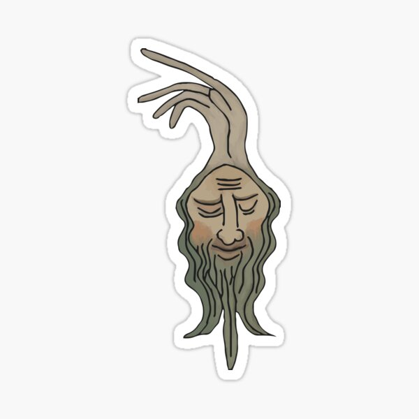 Onion Head Sticker