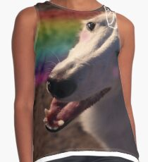 Obie the Magical Unicorn Hound Contrast Tank
