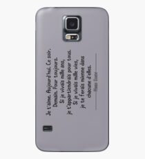 Noah Shaw Quote Case/Skin for Samsung Galaxy