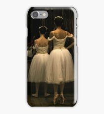 Waiting in the wings iPhone Case/Skin