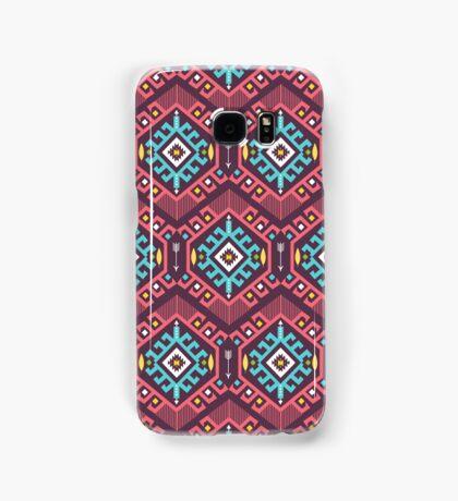 Aztec geometric seamless  colorful pattern Samsung Galaxy Case/Skin
