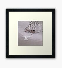 Dunks Framed Print
