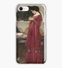John William Waterhouse - The Crystal Ball . Woman portrait: sensual woman, girly art, female style, pretty women, femine, beautiful dress, cute, creativity, love, sexy lady iPhone Case/Skin
