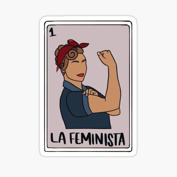 La Feminista Lotería Sticker