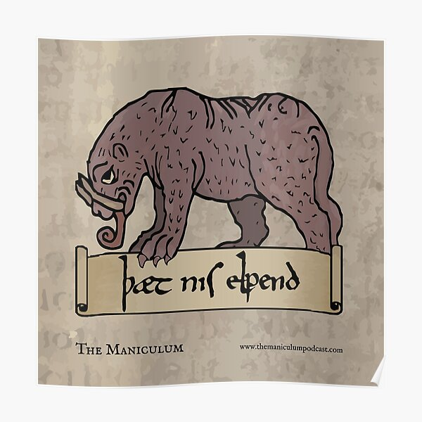 This is Not an Elephant Poster