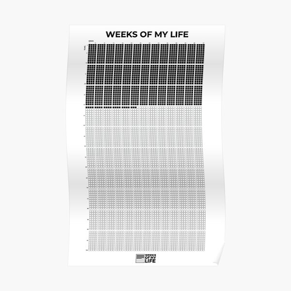 Weeks Of My Life Poster