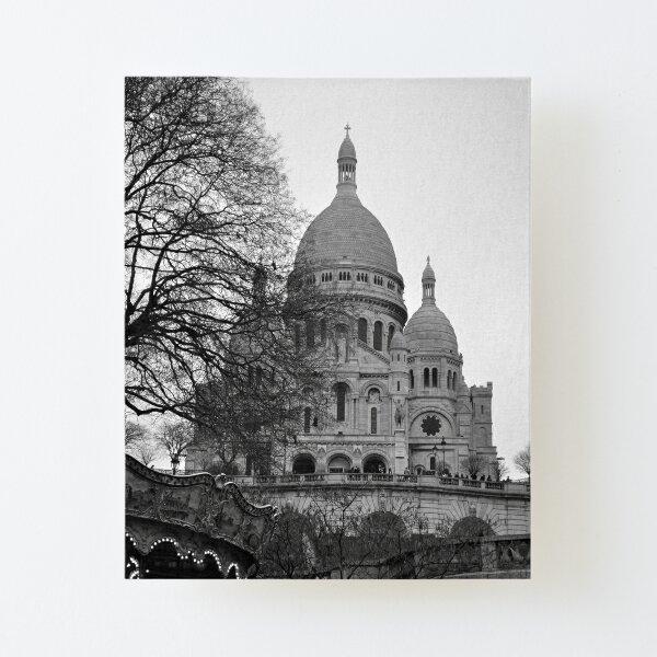 Sacre Coeur, Paris Canvas Mounted Print