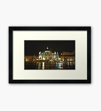 St. Peter in Christmas Day in the rain Framed Print