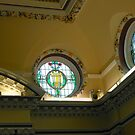 Elegant Stained Glass Windows, Town Hall, South Shields by BlueMoonRose