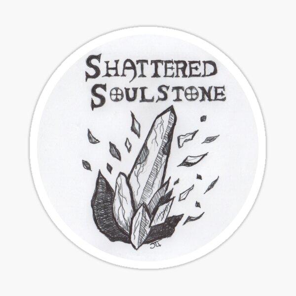 Shattered Soulstone podcast logo Sticker