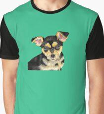 Black Pup Graphic T-Shirt
