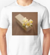 composition of white freesia flowers Unisex T-Shirt