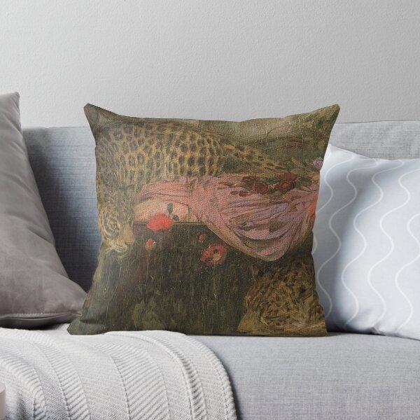 John William Waterhouse  Throw Pillow