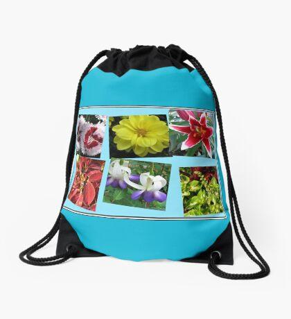 Erinnerungen an Sommerblumencollage Turnbeutel
