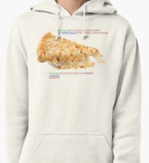 cheese pizza Pullover Hoodie
