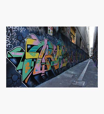 Street Art - Union Lane Photographic Print