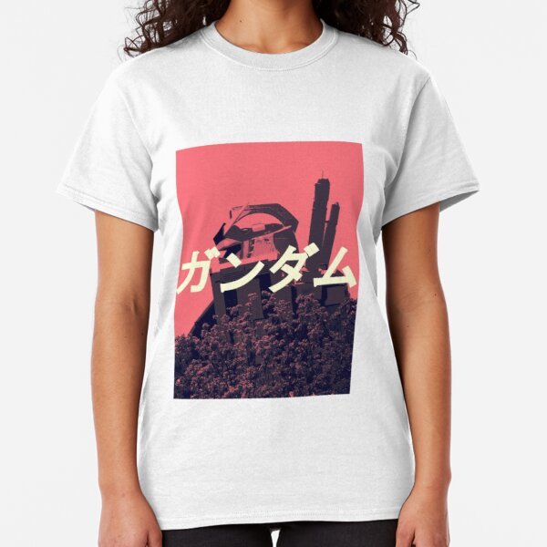 The Gundam Shirt | Mobile Suit RX-78-2 Pink Classic T-Shirt