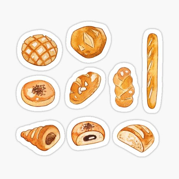 Bread Sticker Pack Sticker