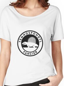 Temnospondyl Fancier Tee (Black on Light) Women's Relaxed Fit T-Shirt