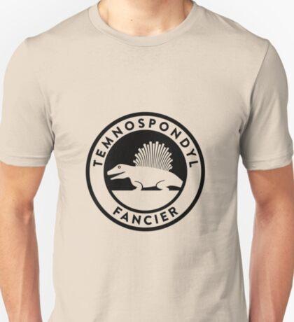 Temnospondyl Fancier Tee (Black on Light) T-Shirt