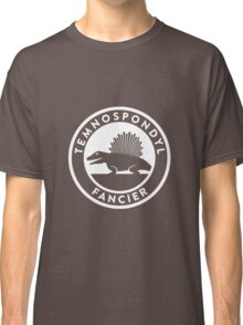 Temnospondyl Fancier Tee (White on dark) Classic T-Shirt
