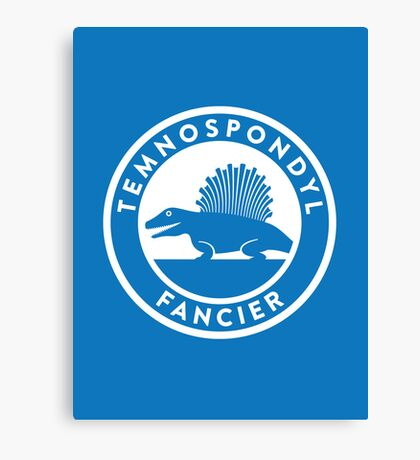 Temnospondyl Fancier Print Canvas Print