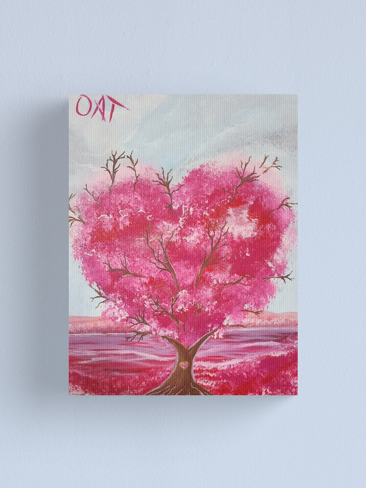 Alternate view of Tree of Love Canvas Print