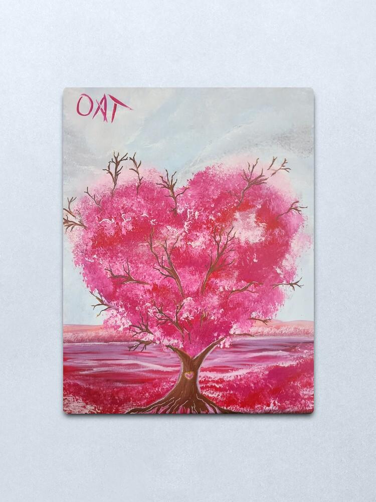 Alternate view of Tree of Love Metal Print