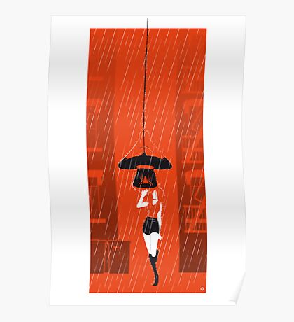 Kissin' In The Rain (Heroes & Movies) Poster