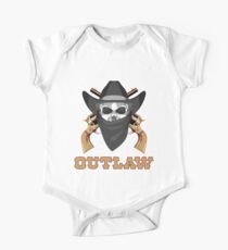 Outlaw Skull One Piece - Short Sleeve