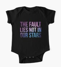 The Fault Lies Not in Our Stars One Piece - Short Sleeve