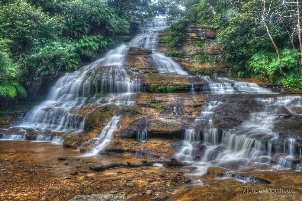 Katoomba Cascades by Michael Matthews
