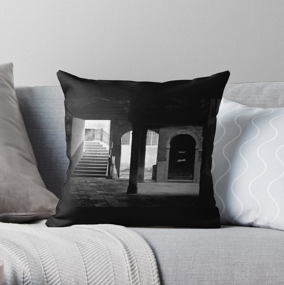 Don't Look Now Throw Pillow