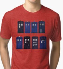 Doctor Who - The TARDIS Tri-blend T-Shirt