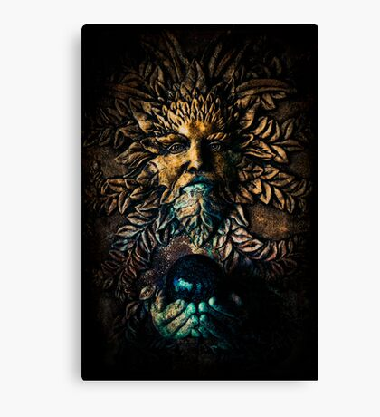 The Stone Sorcerer Canvas Print