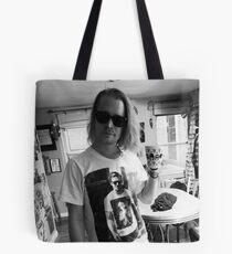 Macaulay Gosling - t-shirt of Macaulay Culkin wearing a t-shirt of Ryan Gosling wearing a t-shirt of Macaulay Culkin Tote Bag