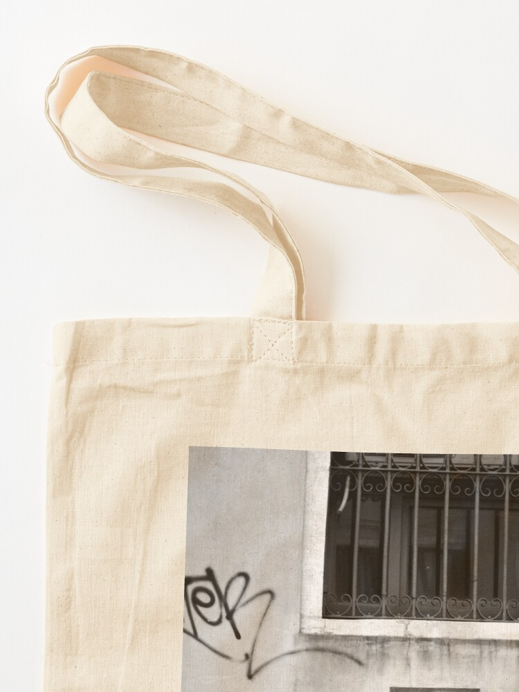 Alternate view of Not Happy! Tote Bag