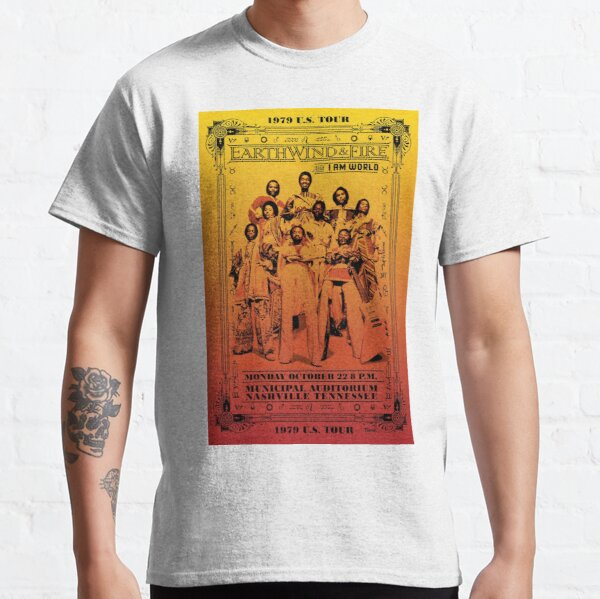 Earth Wind and Fire 1979 Concert Classic T-Shirt