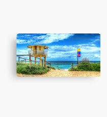 Elouera Beach Tower Canvas Print