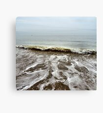 Rolling tides Canvas Print